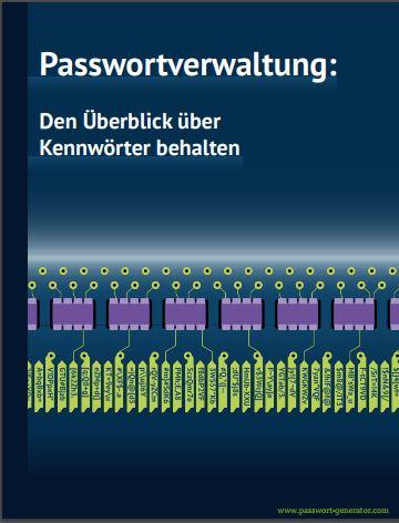 eBook Passwortverwaltung