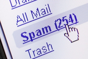 Über Spam-Mails gelingt der Identitätsdiebstahl u. U. besonders leicht.