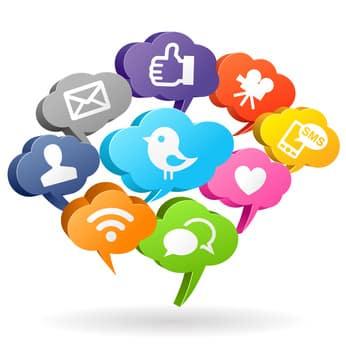 Social-Media-Buttons: Datenschutz steht dort nicht an erster Stelle.